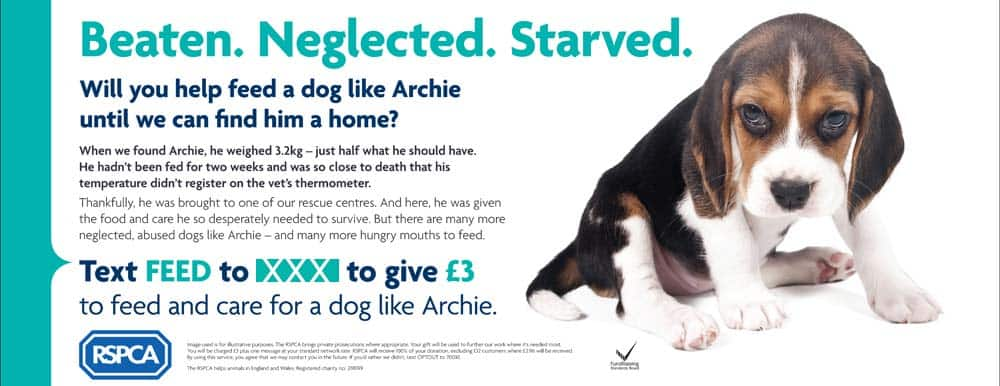 rspca adverts