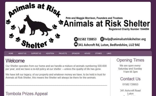 Animals at Risk Shelter, Luton