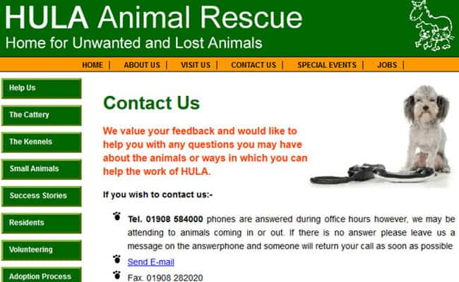 HULA Animal Sanctuary, Milton Keynes