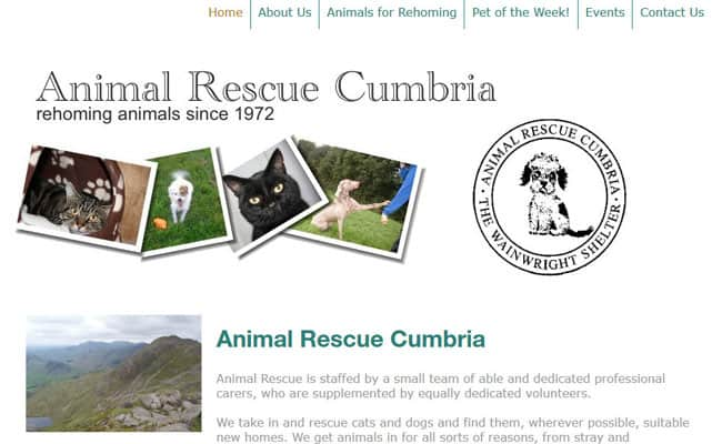 Animal Rescue Cumbria, Kendal