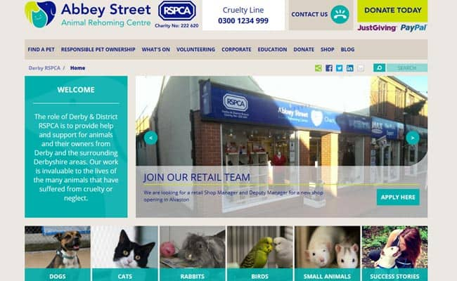 RSPCA Rehoming Centre (Derby), Derby