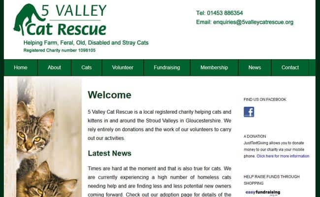 5 Valley Cat Rescue, Stroud