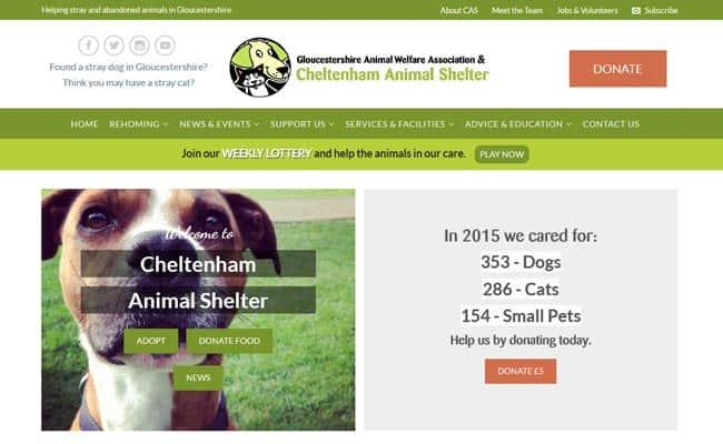 Cheltenham Animal Shelter, Cheltenham