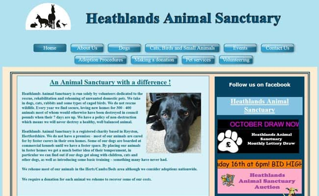 Heathlands Animal Sanctuary, Royston