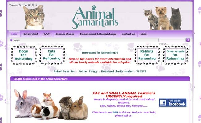 Animal Samaritans, welling