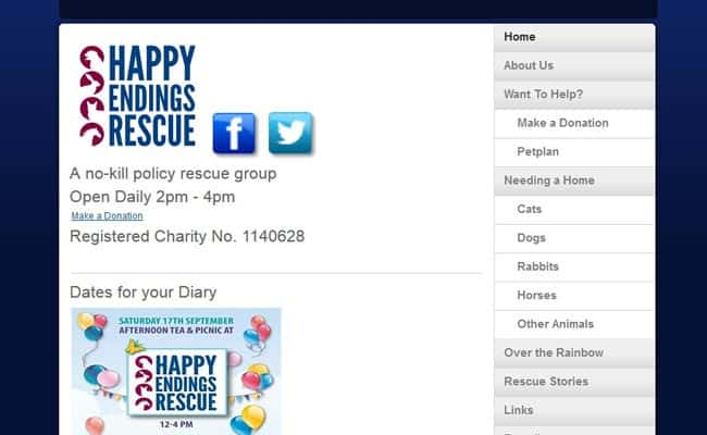 Happy Endings Rescue, Faversham