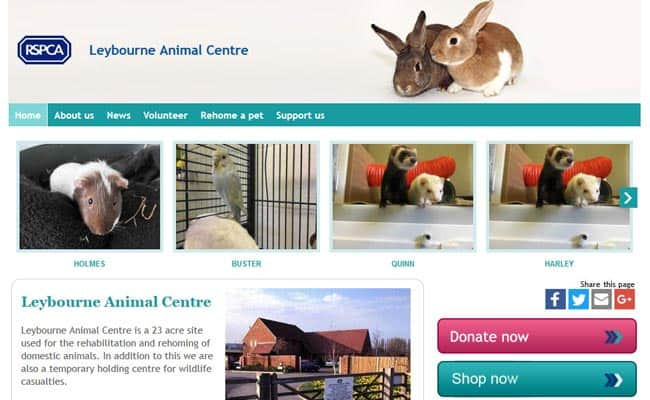 RSPCA Leybourne Animal Centre, West Malling