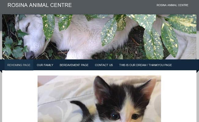 Rosina Animal Centre, Sevenoaks