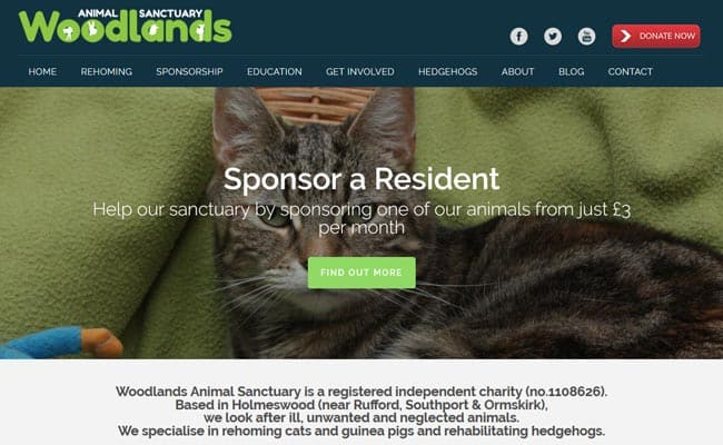 Woodlands Animal Sanctuary, Ormskirk