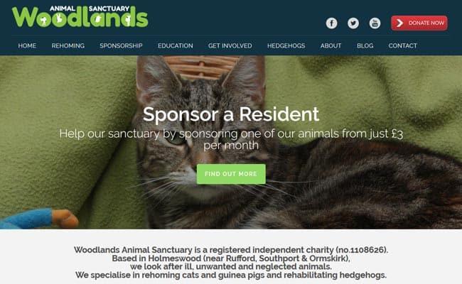 Woodlands Animal Sanctuary, Ormskirk