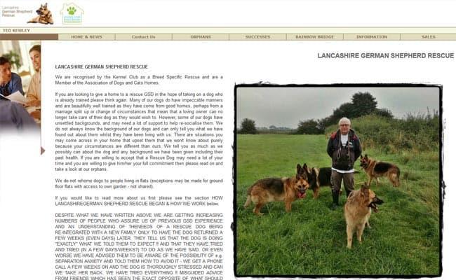 Lancashire German Shepherd Rescue, Preston