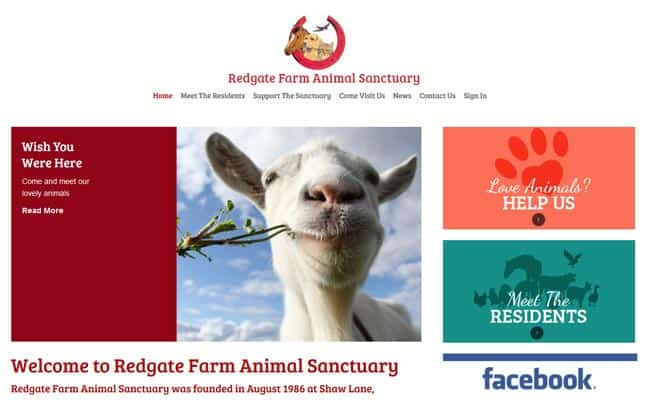 Redgate Farm Animal Sanctuary, Markfield