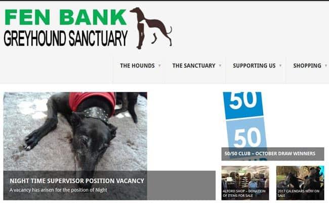 Fen Bank Greyhound Sanctuary, Boston