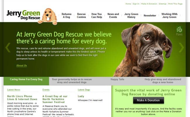 Jerry Green Dog Rescue, Brigg