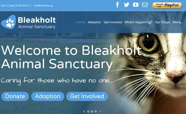 Bleakholt Animal Sanctuary, Bury
