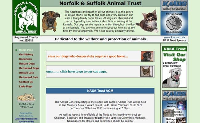 Norfolk and Suffolk Animal Trust, Great Yarmouth