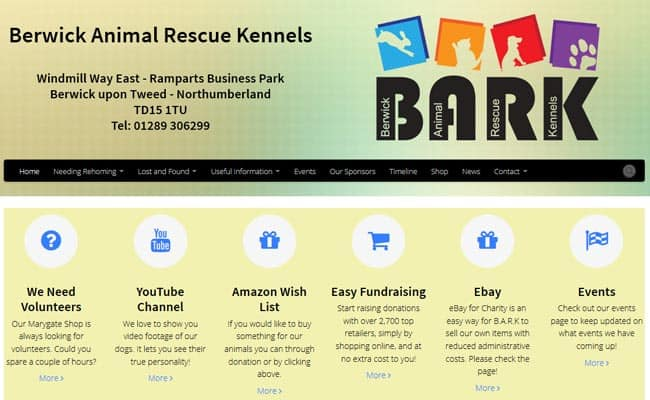 Berwick Animal Rescue Kennels, Berwick-Upon-Tweed