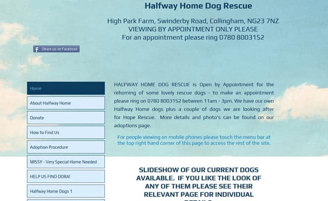 Halfway Home Dog Rescue, Collingham