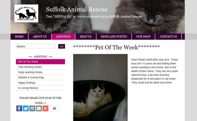 Suffolk Animal Rescue, Stowmarket