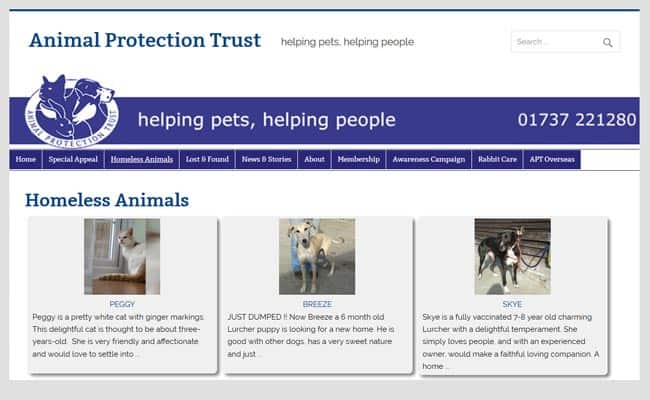 Animal Protection Trust, Horley