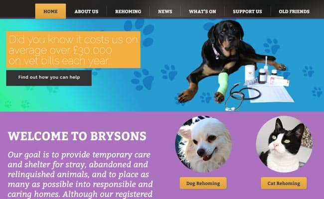 Brysons Animal Shelter, Gateshead
