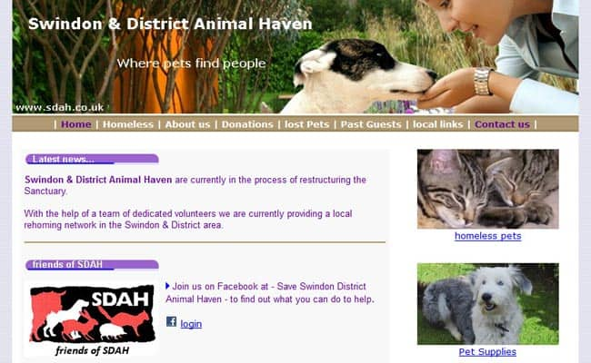 Swindon and District Animal Haven, Swindon