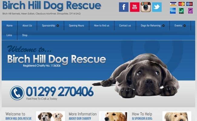 Birch Hill Dog Rescue, Kidderminster