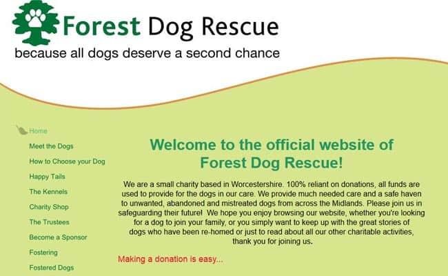 Forest Dog Rescue, Kidderminster