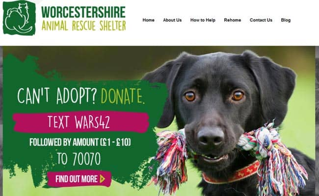 Worcestershire Animal Rescue Shelter, Malvern