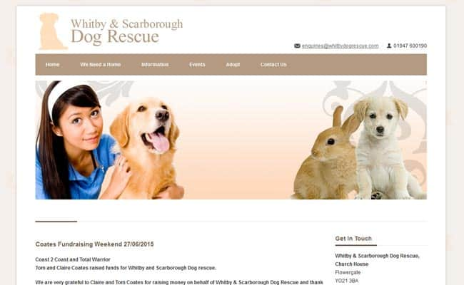 Whitby Dog Rescue, Whitby