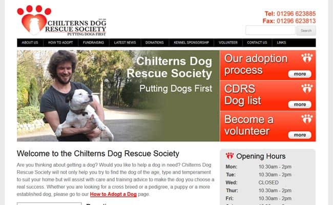 Chilterns Dog Rescue Society, Tring
