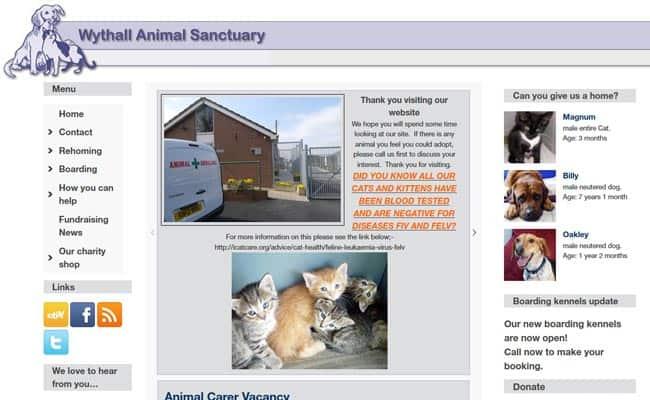 Wythall Animal Sanctuary in Birmingham